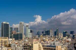 tel aviv, city, urb